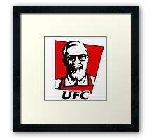 Conor Mcregor KFC Framed Print