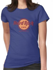 hard rock Womens Fitted T-Shirt