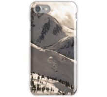 Blackcomb Boundary, Disease Ridge & Fissile iPhone Case/Skin