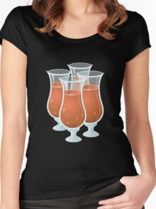 Glitch Drinks exotic juice Women's Fitted Scoop T-Shirt