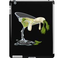 Glitch Drinks face smelter iPad Case/Skin