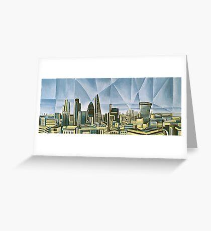 Dynamic London Greeting Card