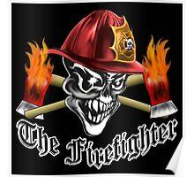 Firefighter Skull 5.1 Poster