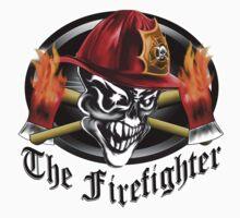 Firefighter Skull 5.2 Kids Clothes