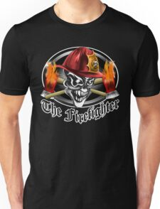 Firefighter Skull 5.2 Unisex T-Shirt