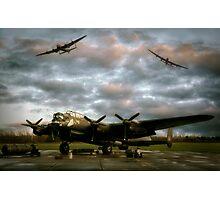 The Avro Lancaster Trio Photographic Print