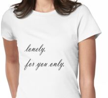 Lonely4u Womens Fitted T-Shirt