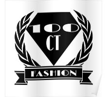 100ct Fashion Promo Items Poster
