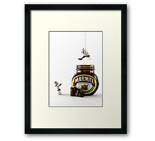 To Any Lengths Framed Print