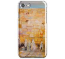 The Western Wall iPhone Case/Skin