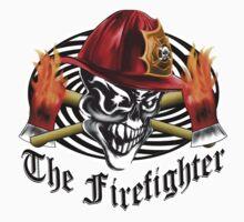 Firefighter Skull 5.4 Kids Clothes