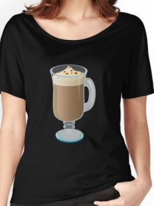 Glitch Drinks mabbish coffee Women's Relaxed Fit T-Shirt