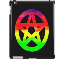 Psychedelic Hippy Pagan Pentacle  iPad Case/Skin