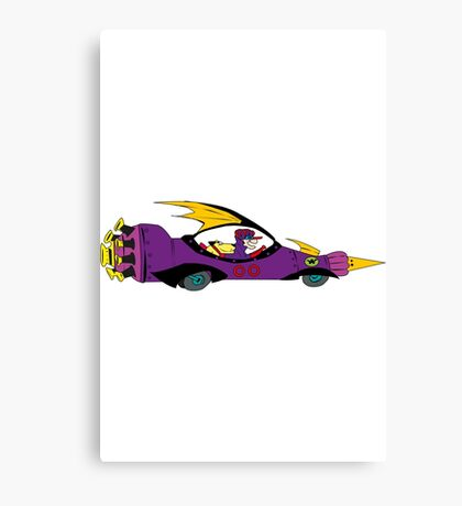 the wacky races TRIBUTE Canvas Print