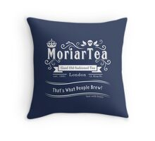 MoriarTea 2014 Edition (white) Throw Pillow