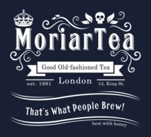 MoriarTea 2014 Edition (white) by sirwatson