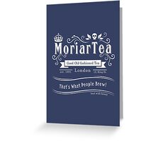 MoriarTea 2014 Edition (white) Greeting Card