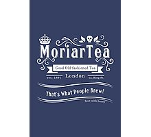 MoriarTea 2014 Edition (white) Photographic Print