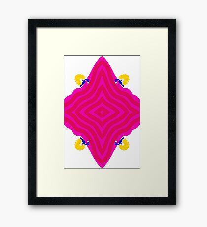 Nerd Girls Framed Print