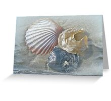 Spirit of the Sea - Seashells and Surf Greeting Card