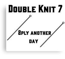 Double Knit 7 #1 Canvas Print