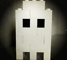 Lego Ghost by FendekNaughton
