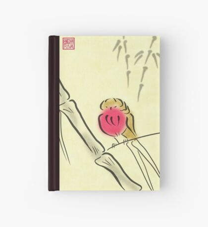 Sumi-e Robin Hardcover Journal