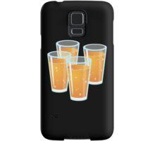 Glitch Drinks orange juice Samsung Galaxy Case/Skin