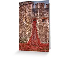 Blood Swept Lands 2 Greeting Card