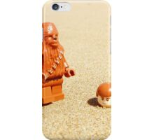 Chewy & Han Go To The Beach iPhone Case/Skin