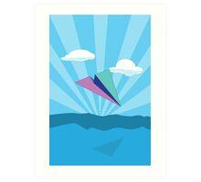 Paper Airplane 78 Art Print