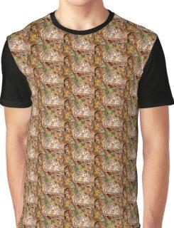 Fungus on treestump Graphic T-Shirt