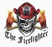 Firefighter Skull 6.1 Kids Tee