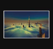Dubai Skyline One Piece - Short Sleeve