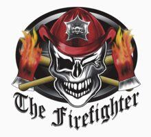 Firefighter skull 6.2 One Piece - Short Sleeve