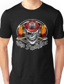 Firefighter skull 6.2 Unisex T-Shirt
