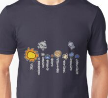 Spacebound - Order of the Planets Unisex T-Shirt