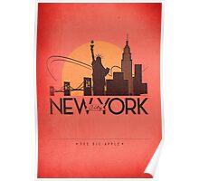 No.1 New York City Poster