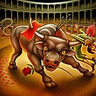Bull Fight by Matt Curtis