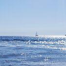 Sailboat on the Sea by babibell