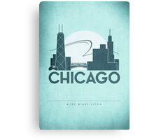 No.2 Chicago Canvas Print