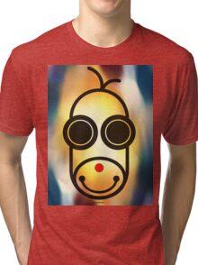 MOODI 1 monkey, by m a longbottom - PLATFORM58 Tri-blend T-Shirt