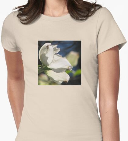 One Spring Morning Womens Fitted T-Shirt