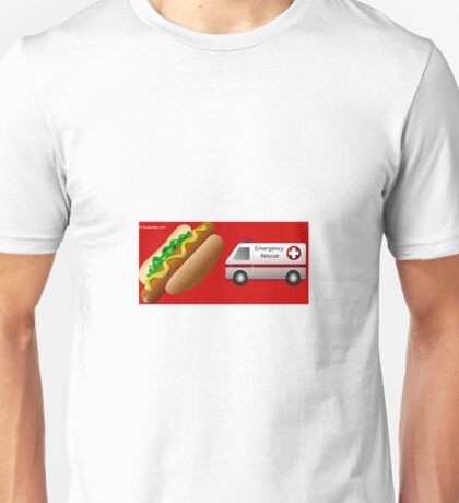 Hotdog Emergency Unisex T-Shirt