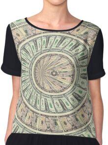 dollar Chiffon Top