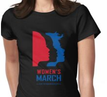 Women March On Washington Womens Fitted T-Shirt
