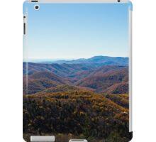 Blue Ridge Parkway Fall drive iPad Case/Skin