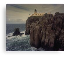 Neist Point lighthouse, Isle of Skye Canvas Print