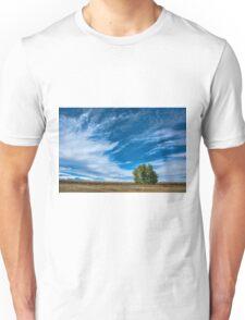 Blue Skies Sing Of Trees Unisex T-Shirt