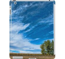Blue Skies Sing Of Trees iPad Case/Skin